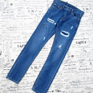 Levi's Men's 510 Distressed Skinny Jeans      A4